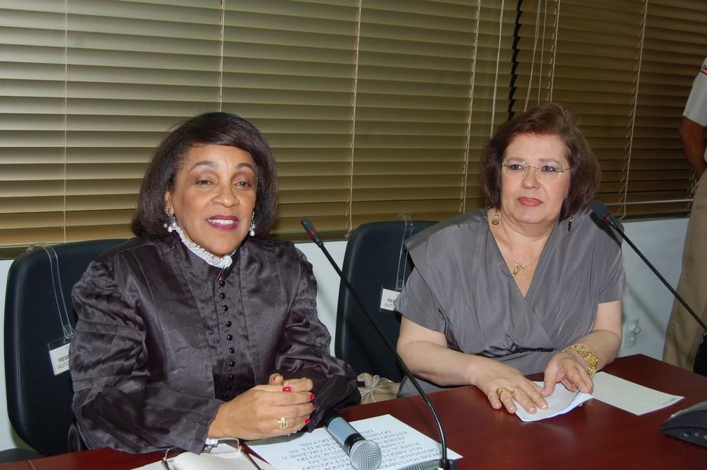 Posse das procuradoras de Justiça Maria Alice da Silva e Marilene Mota